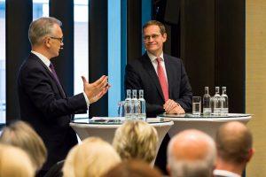 Initiative Hauptstadt Berlin e.V. 2016 – Town Hall Meeting mit dem Regierenden Bürgermeister von Berlin Michael Müller