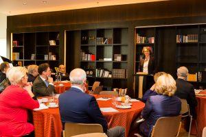 Initiative Hauptstadt Berlin e.V. 2016 – Hauptstadtfrühstück Wirtschaft – Frau Dr. Beatrice Kramm (Präsidentin der Industrie- und Handelskammer zu Berlin)