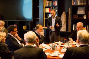 Initiative Hauptstadt Berlin e.V. – Hauptstadtfrühstück Politik 2017 – Sebastian Czaja (Vorsitzender der FDP-Fraktion Berlin)