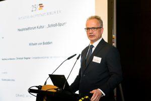 """Initiative Hauptstadt Berlin e.V. 2017 – Hauptstadtforum Kultur mit Wilhelm von Boddien zum Thema: """"Schloss-Spurt"""