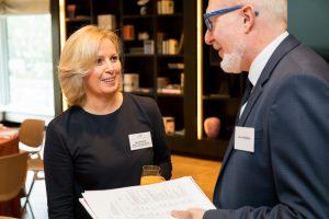 Initiative Hauptstadt Berlin e.V. 2017 – Hauptstadtfrühstück Wirtschaft – mit Frau Dr. Andrea Grebe (Vorsitzende der Geschäftsführung der Vivantes Netzwerk für Gesundheit GmbH)
