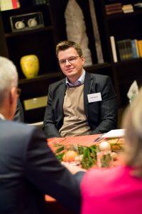 Initiative Hauptstadt Berlin e.V. – Hauptstadtfrühstück Wirtschaft 2017 – Jörg Simon (Vorstandsvorsitzender der Berliner Wasserbetriebe) – Thema: Herausforderungen für die Wasserwirtschaft Berlins