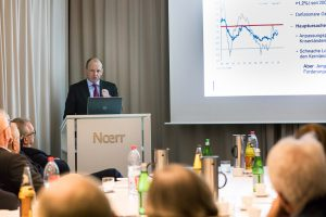 Initiative Hauptstadt Berlin e.V. – Wirtschaft – Impulsreferat: Claus Tigges (Präsident der Hauptverwaltung der Bundesbank in Berlin)