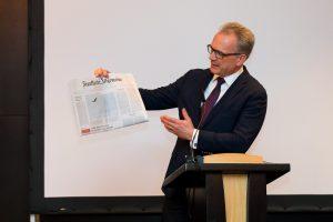 """Initiative Hauptstadt Berlin e.V. – Hauptstadtdinner – mit Herrn Jürgen Kaube (Mit-Herausgeber der """"Frankfurter Allgemeine Zeitung"""" / FAZ)"""